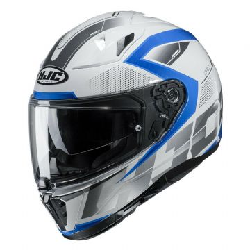 HJC I70 Asto Blue Full Face Motorcycle Motorbike Helmet New to 2019 Free Pinlock